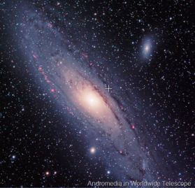 Andromedia Galaxy in WorldWide Telescope