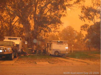 Dust storm NSW Sep 22 2009
