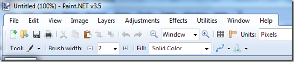 Paint.NET version 3.5 available Nov 8 2009