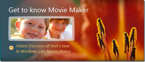 Get to know Live Movie Maker