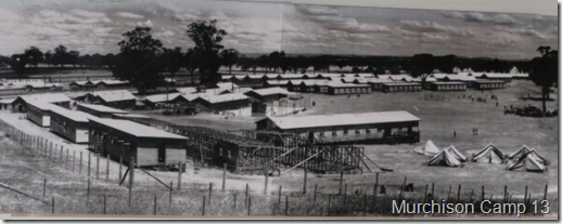 WW II Camp 13 Murchison Panorama